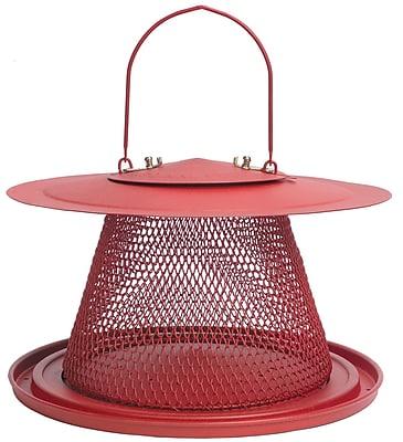 Perky-Pet Steel No/No Red Cardinal Bird Feeder