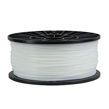 Monoprice® 1.75mm 1kg PLA Premium 3D Printer Filament Spool, White