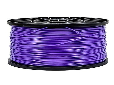 Monoprice® 1.75mm 1kg PLA Premium 3D Printer Filament Spool, Fluorescent Purple
