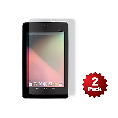 Monoprice® Screen Protector With Cleaning Cloth For Nexus 7, Transparent Finish