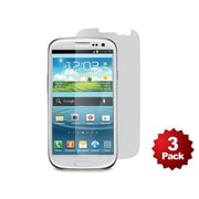 Monoprice® Screen Protector With Cleaning Cloth For Samsung Galaxy S3, Transparent Finish
