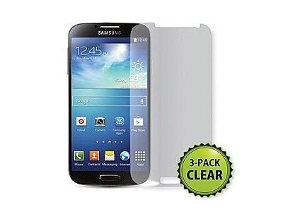 Monoprice® Screen Protector For Samsung Galaxy S4, Clear