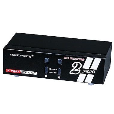 Monoprice® 104069 2 x 1 Enhanced Powered DVI Switcher