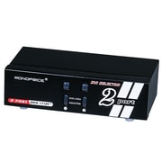 Monoprice® 104069 2 x 1 Enhanced Powered DVI Switcher