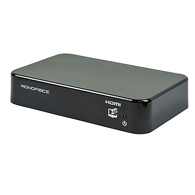 Monoprice 110249 HDMI Splitter, Black