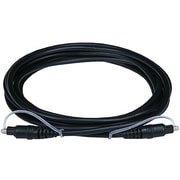 Monoprice® 10' Optical Toslink Audio Cable, Black