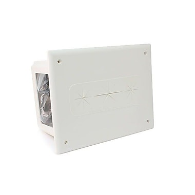 Monoprice® Recessed Media Box, White