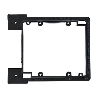Monoprice® 2-Gang Low Voltage Mounting Bracket For New Construction