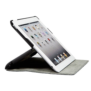 Monoprice® Folio Cover and Stand For iPad 3/4, Black
