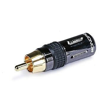 Monoprice® Premium RCA Plug, Black