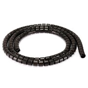 Monoprice® 20 mm x 1.5 m Spiral Wrapping Band, Black