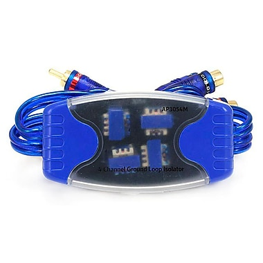 Monoprice® 106909 4 Channel Ground Loop Isolator
