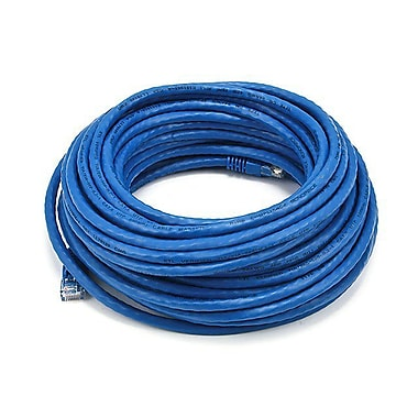 Monoprice® 50' 24AWG Cat5e UTP Ethernet Network Cable, Blue