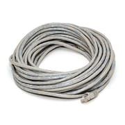 Monoprice® 25' 24AWG Cat5e UTP Crossover Ethernet Network Cable, Gray