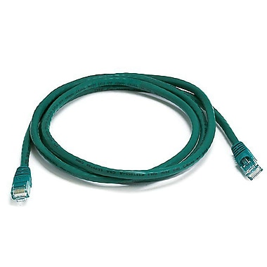 Monoprice 103378 5' CAT-5e Ethernet Network Cable, Green