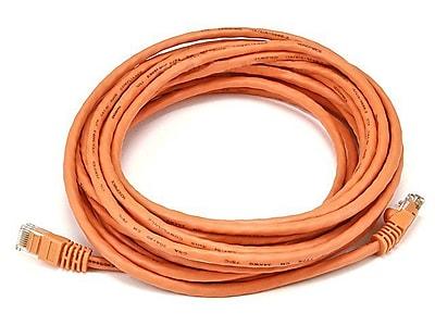 Monoprice® 20' 24AWG Cat5e UTP Ethernet Network Cable, Orange
