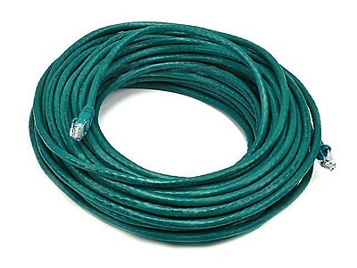 Monoprice® 75' 24AWG Cat5e UTP Ethernet Network Cable, Green