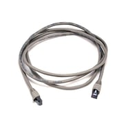 Monoprice® 7' 24AWG Cat5e STP Ethernet Network Cable, Gray