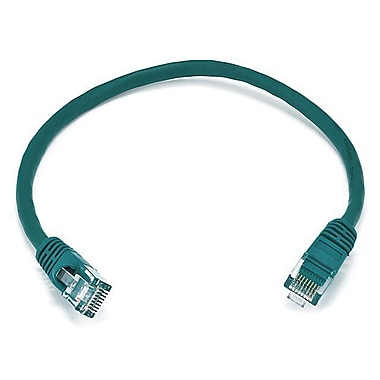 Monoprice 102289 1' 24-AWG CAT-6 UTP Ethernet Network Cable, Green