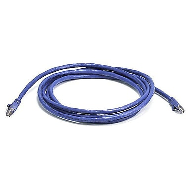Monoprice® 7' 24AWG Cat6 UTP Ethernet Network Cable, Purple