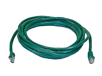 Monoprice® 14' 24AWG Cat6 UTP Ethernet Network Cable, Green