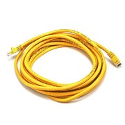 Monoprice® 14' 24AWG Cat6 UTP Ethernet Network Cable, Yellow