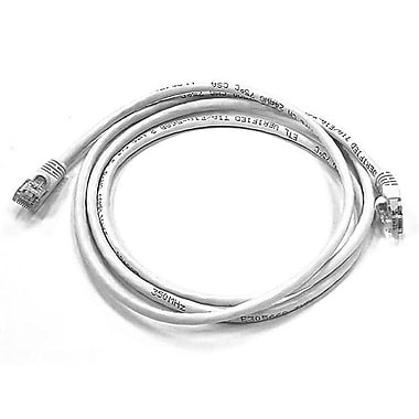 Monoprice 103433 5' CAT-6 Ethernet Network Cable, White
