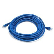 Monoprice® 20' 24AWG Cat6 UTP Ethernet Network Cable, Blue
