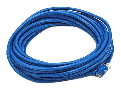 Monoprice 105018 30' CAT-6 Ethernet Network Cable, Blue