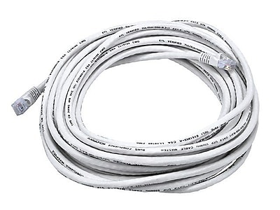 Monoprice 105024 30' CAT-6 Ethernet Network Cable, White