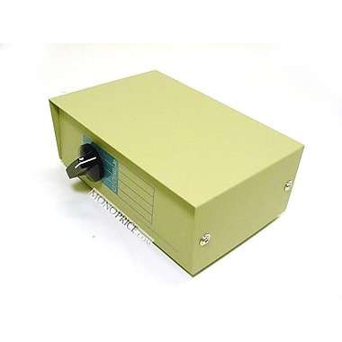 Monoprice® 101343 DB9F 4 Way Switch Box