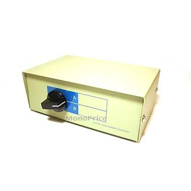 Monoprice® 101344 DB9M 2 Way Switch Box