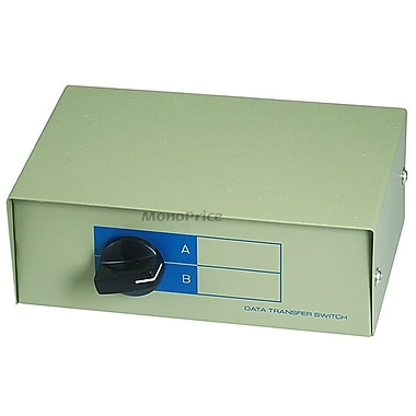 Monoprice® 101347 DB15F 2 Way Switch Box