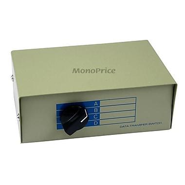 Monoprice® 101348 DB15F 4 Way Switch Box