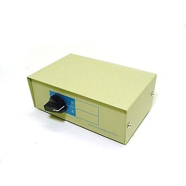 Monoprice® 101352 DB25F 2 Way Switch Box