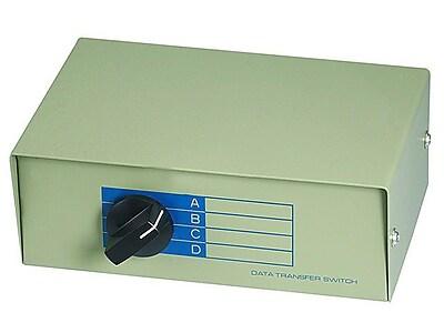 Monoprice® 101354 DB25F 4 Way Switch Box
