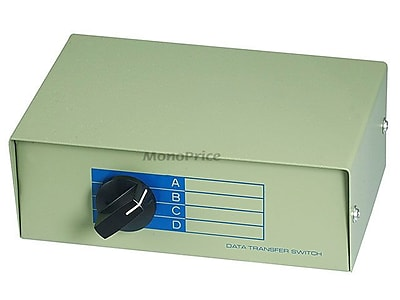 Monoprice® 101376 BNC 4 Position Switch Box