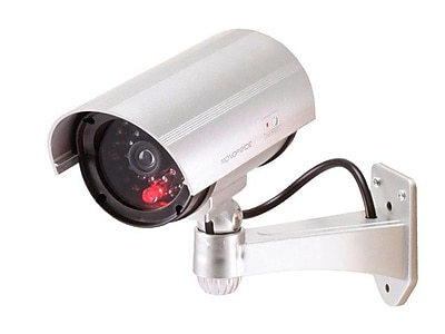 Monoprice® 108428 Dummy IR Bullet Camera With Flashing Red Activity LED