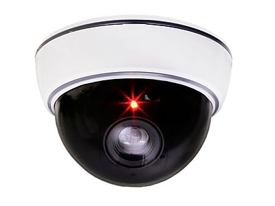 Monoprice® 108429 Dummy Dome Camera With Switchable On/Off LED
