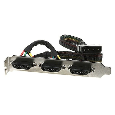 Monoprice® 102372 PCI Power Panel With 4 Pin Power Connectors