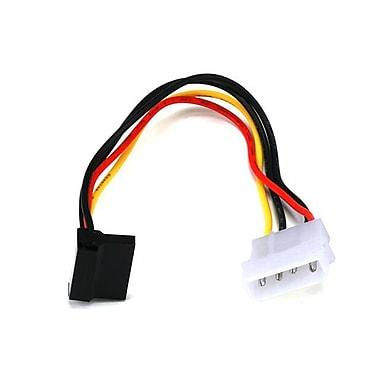 Monoprice® 0.6' SATA 15pin Female to Molex 4pin Male Power Adapter