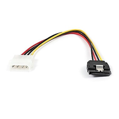 Monoprice® 0.6' 15 Pin Female/4 Pin MOLEX Male Power Adapter Cable With Latch