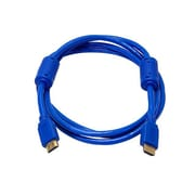 Monoprice® 6' High Speed HDMI Male to Male 28AWG Cable With Ferrite Cores, Blue