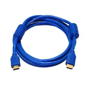 Monoprice® 10' High Speed HDMI Male to Male 28AWG Cable With Ferrite Cores, Blue