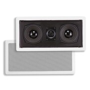 "Monoprice® 100W 5 1/4"" Center Channel In-Wall Speaker, White"
