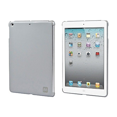 Monoprice® Soft Touch Cover For iPad Air, Silver
