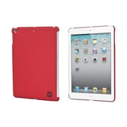 Monoprice® Soft Touch Cover For iPad Air, Red