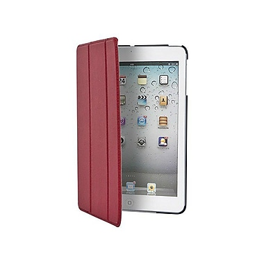 Monoprice® Cover and Stand With Magnetic Latch For iPad Mini With Retina Display, Red
