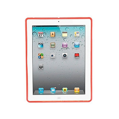 Monoprice® Premium TPU Case For iPad 2/3/4, Red