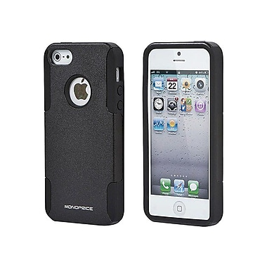 Monoprice® Dual Guard PC With Silicone Cases For iPhone 5/5s